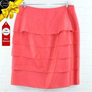 ISABELLA SUITS Shimmery Layered Pencil Skirt